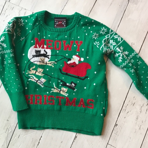 "Other - Toddler Meowy Christmas ""Ugly"" Sweater"
